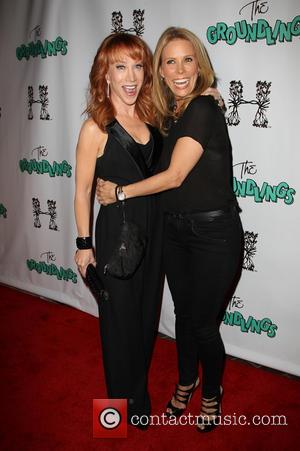 Kathy Griffin and Cheryl Hines