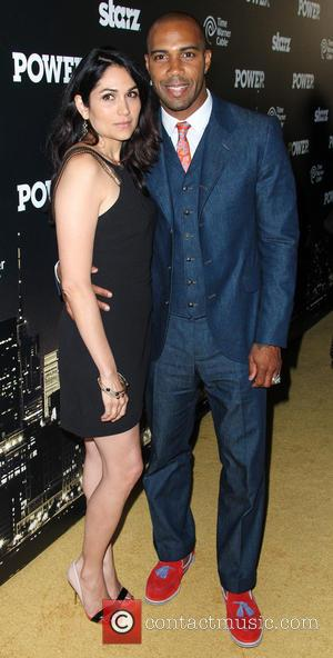 Lela Loren and Omari Hardwick - The Starz 'Power' Premiere at the Highline Ballroom - Arrivals - New York City,...
