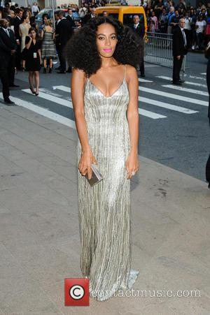 Solange Knowles - 2014 CFDA Awards - Outside Arrivals - New York, New York, United States - Monday 2nd June...