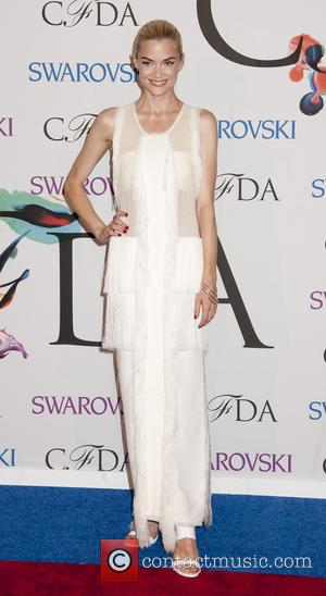 Jessica Stam - 2014 CFDA Fashion Awards held at Alice Tully Hall  - Arrivals - New York, New York,...