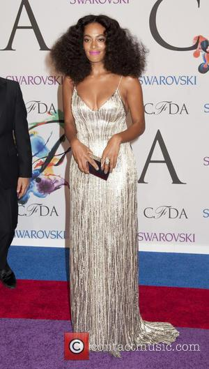 Solange Knowles - 2014 CFDA Fashion Awards held at Alice Tully Hall  - Arrivals - New York, New York,...