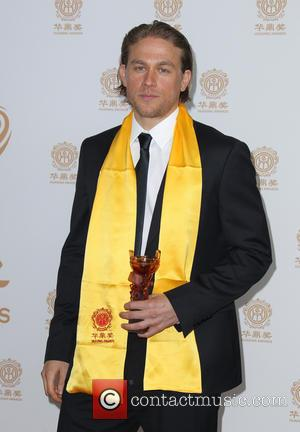 Charlie Hunnam - Hollywood celebrities honored at Huading Film Awards - Press Room - Hollywood, California, United States - Monday...