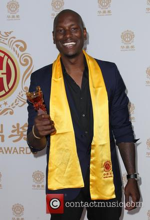 Tyrese Gibson - Hollywood celebrities honored at Huading Film Awards - Press Room - Hollywood, California, United States - Monday...