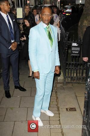 Samuel L Jackson - Glamour Women of the Year 2014 held at Berkeley Square Gardens - Outside Arrivals - London,...
