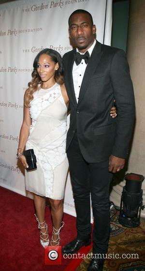 Alexis and Amare Stoudemire
