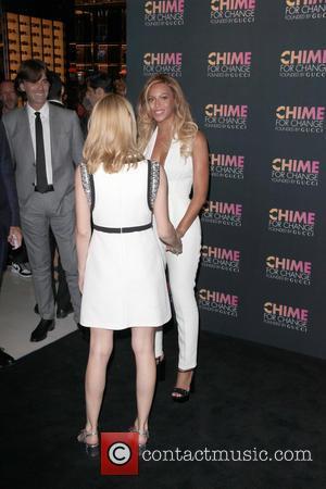 Beyonce and Frida Giannini