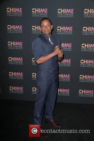 Hill Harper - Chime For Change one-tear anniversary event at the Gucci flagship store - New York City, New York,...