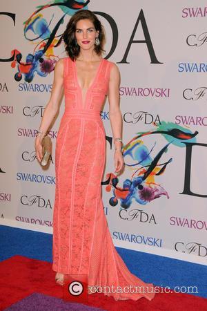 Hilary Rhoda - 2014 CFDA Fashion Awards - Red Carpet Arrivals - Manhattan, New York, United States - Tuesday 3rd...