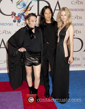 Chris Kattan, Alexander Wang and Anna Ewers