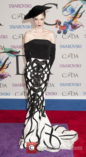 Coco Rocha - 2014 CFDA Fashion Awards - Red Carpet Arrivals - New York, New York, United States - Tuesday...