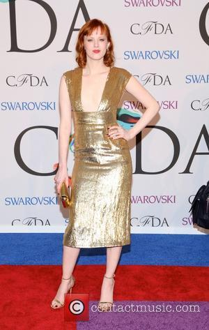 Karen Elson - 2014 CFDA Fashion Awards - Red Carpet Arrivals - New York, New York, United States - Tuesday...
