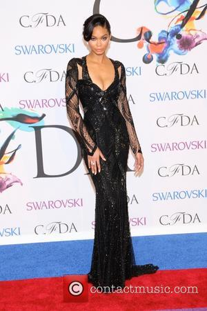 Chanel Iman - 2014 CFDA Fashion Awards - Red Carpet Arrivals - New York, New York, United States - Tuesday...
