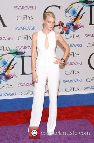 Jessica Stam - 2014 CFDA Fashion Awards - Red Carpet Arrivals - New York, New York, United States - Tuesday...
