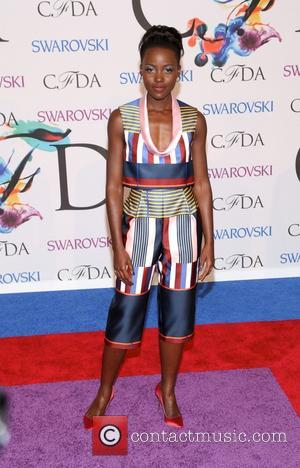 Lupita Nyong'o - 2014 CFDA Fashion Awards - Red Carpet Arrivals - New York, New York, United States - Tuesday...