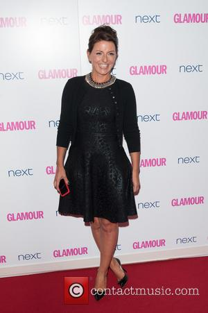 Davina McCall - Glamour Women of the Year 2014 Awards held at Berkeley Square Gardens - Arrivals. - London, United...