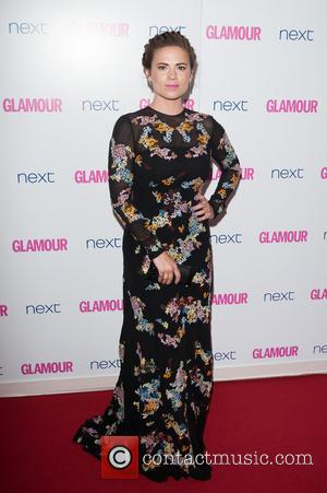 Hayley Atwell - Glamour Women of the Year 2014 Awards held at Berkeley Square Gardens - Arrivals. - London, United...