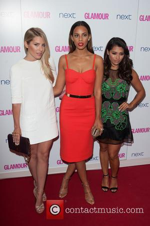 The Saturdays - Glamour Women of the Year 2014 Awards held at Berkeley Square Gardens - Arrivals. - London, United...