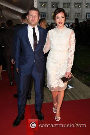 Dermot O'Leary and Dee Koppang - Glamour Women of the Year 2014 held at Berkeley Square Gardens - Outside Arrivals...