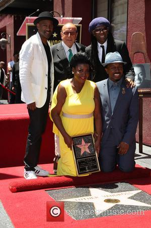 Marcus Miller, Clive Davis, Niles Rodgers, Seveda Williams and Alfonso