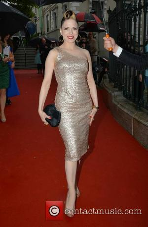 Imelda May - Pride of Ireland Awards 2014 at The Mansion House - Arrivals - Dublin, Ireland - Tuesday 3rd...