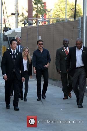 Tom Cruise - Tom Cruise arriving for the Jimmy Kimmel Live! show - Los Angeles, California, United States - Tuesday...