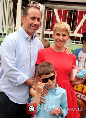Jerry Seinfeld and Jessica Seinfeld - '2014 Baby Buggy Bedtime Bash' at the Victorian Gardens at Wollman Park - New...