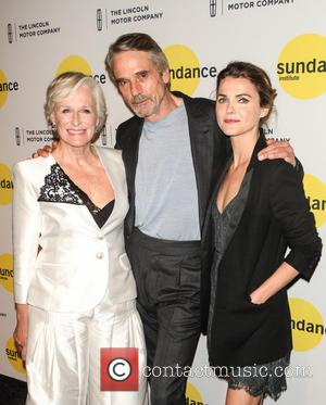Glenn Close, Jeremy Irons and Keri Russell - Sundance Institute Vanguard Leadership Award at Stage 37 - New York, New...