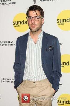 Zachary Quinto - Sundance Institute Vanguard Leadership Award at Stage 37 - New York, New York, United States - Wednesday...
