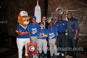 Bernie Williams, Harlem Little Leaguers, Dougout and Stephen Keener