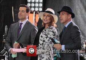 Carson Daly, Savannah Guthrie and Matt Lauer - Pharrell Williams performs live on