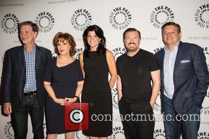 Ricky Gervais, Joy Behar, Maureen J Reidy, Reed Hastings and Ted Sandros