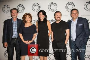 Reed Hastings, Joy Behar, Maureen J Reidy, Ricky Gervais and Ted Sandros