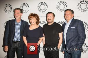 Reed Hastings, Joy Behar, Ricky Gervais and Ted Sandros
