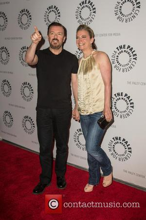 Ricky Gervais and Jane Fallon - Screening Of Netflix Series