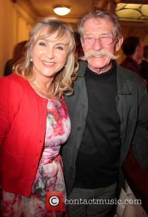 John Hurt and Lesley Garrett - English National Opera's 'Benvenuto Cellini' afterparty held at the London Coliseum - Inside -...