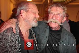 Terry Gilliam and John Hurt - English National Opera's 'Benvenuto Cellini' afterparty held at the London Coliseum - Inside -...