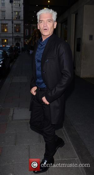 Phillip Schofield - Phillip Schofield leaving The May Fair Hotel in central London - London, United Kingdom - Thursday 5th...