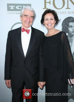 Sam Waterston and Lynn Louisa Woodruff - Jane Fonda honered with American Film Institute Life Acheivement Award at gala tribute...