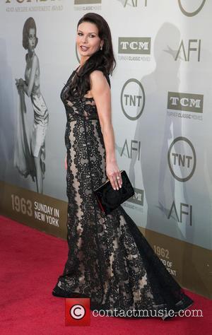 Catherine Zeta-Jones - American Film Institute's (AFI) 42nd Annual Life Achievement Award honoring Jane Fonda at The Dolby Theatre -...