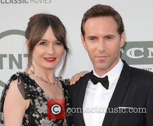 Emily Mortimer and Alessandro Nivola - American Film Institute's (AFI) 42nd Annual Life Achievement Award honoring Jane Fonda at The...