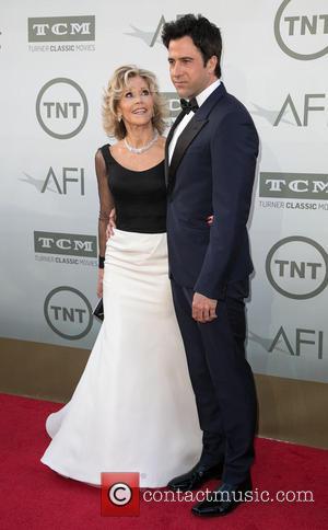 Jane Fonda and Troy Garity - American Film Institute's (AFI) 42nd Annual Life Achievement Award honoring Jane Fonda at The...