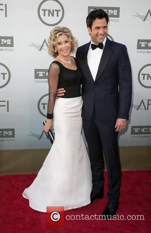 Jane Fonda and Troy Garity