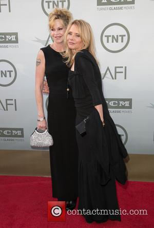 Melanie Griffith and Rosanna Arquette - American Film Institute's (AFI) 42nd Annual Life Achievement Award honoring Jane Fonda at The...