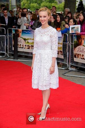 Sarah Gadon - 'Belle' U.K. Premiere held at the BFI Southbank - Arrivals - London, United Kingdom - Thursday 5th...