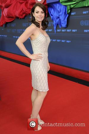Erica Durance - CTV Upfront 2014 Arrival at the Sony Centre for the Performing Arts. - Toronto, Canada - Thursday...