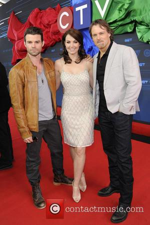 Erica Durance, Michael Shanks and Daniel Gillies