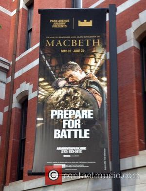 Kenneth Branagh poster - Macbeth opening night party at the Park Avenue Armory - Arrivals. - New York, New York,...