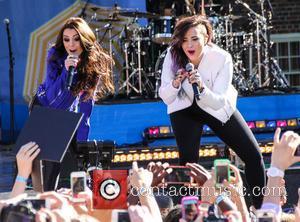 Cher Lloyd and Demi Lovato