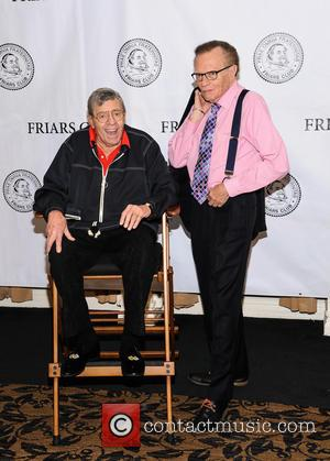 Jerry Lewis and Larry King