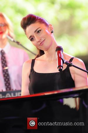Sara Bareilles - Sara Bareilles performing live on the 'Today' show - New York City, New York, United States -...